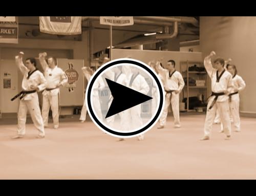 Taekwondo seuran esittelyvideo