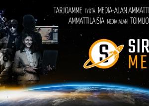 Sirius Median ulkoasun ja logo